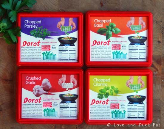Dorot Herbs: Frozen Garlic and Herb Cubes | Product Review