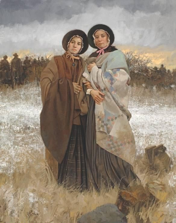 'As Sisters in Zion' tells the history of the LDS hymn and a Julia Hill!