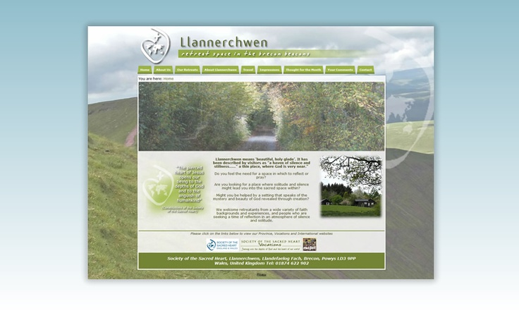 llannerchwen - retreat space in the Brecon Beacons