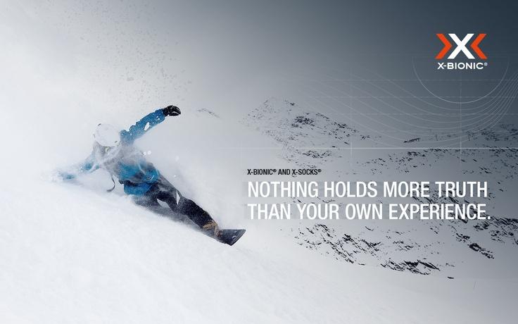 X-BIONIC Wallpaper Snowboard