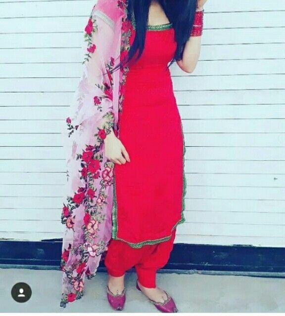 @AMAN❤ #PunjabiLadiesSuits