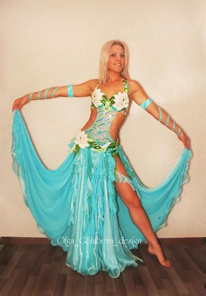 Танцевальные костюмы морские