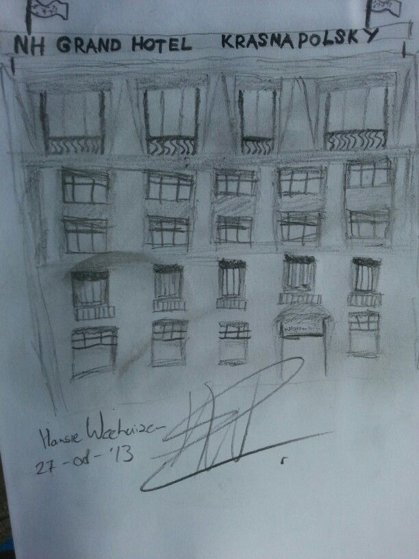 Hansie uit Amsterdam, de nieuwe kunstenaar van het JCC!