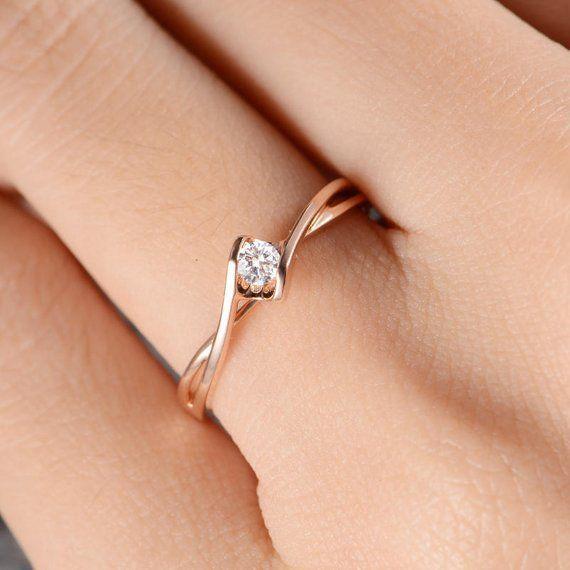 Platin Rund 2.70ct G VS Weißer Diamant 3.6mm Ewigkeitsband für Hochzeitsband 6.5
