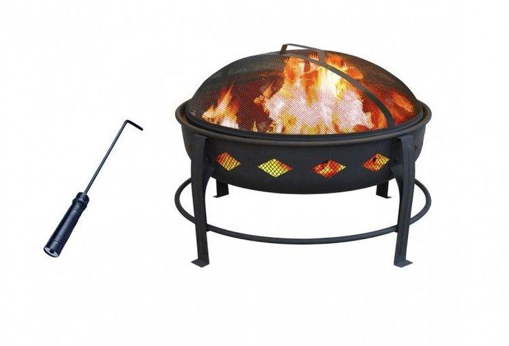 Fire Pit Outdoor Heater Patio Fireplace Ring Backyard RelaxationFire Tool Bowl #FirePitOutdoorHeater, #fire,#pit,#garden,#yard,#patio,#set,#bbq,#outdoor,#wood,#burning,#bowl,#screen,#protector