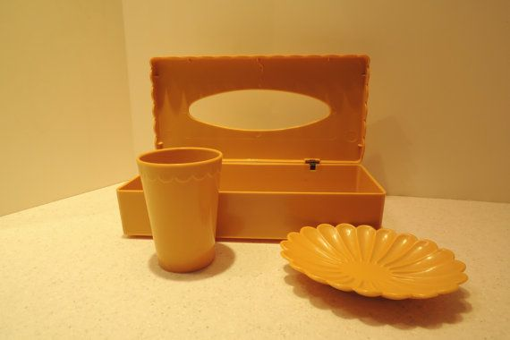 Plastic Tissue Box Soap Dish Toothbrush By