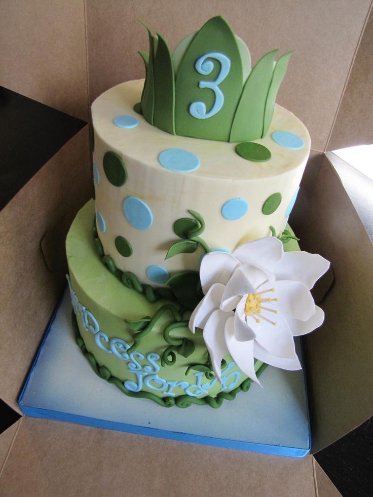Birthday Cake Princess And The Frog