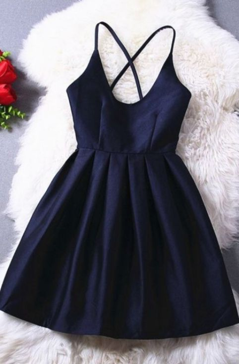 A-line/Princess Prom Dresses, Navy Blue Homecoming Dresses, Short Prom Dresses, Short Navy Blue Prom Dresses With Criss-cross Mini Straps Sale Online, Navy Blue dresses, Blue Prom Dresses, Short Homecoming Dresses, Navy Blue Prom Dresses, Blue Homecoming Dresses, Prom Dresses Short, Prom Dresses Online, Navy Prom Dresses, Short Blue Prom Dresses, Prom Dresses Blue, Short Blue Dresses, Prom Dresses With Straps, Prom Short Dresses, Homecoming Dresses Short, Prom dresses Sale, Navy Blue H...