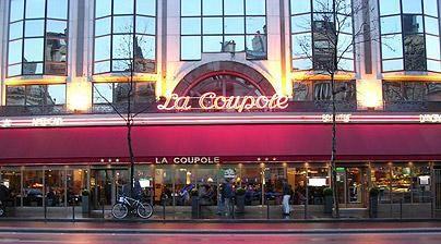 La coupole paris pinterest coupole brasserie et lilas - Magasin bricolage montparnasse ...