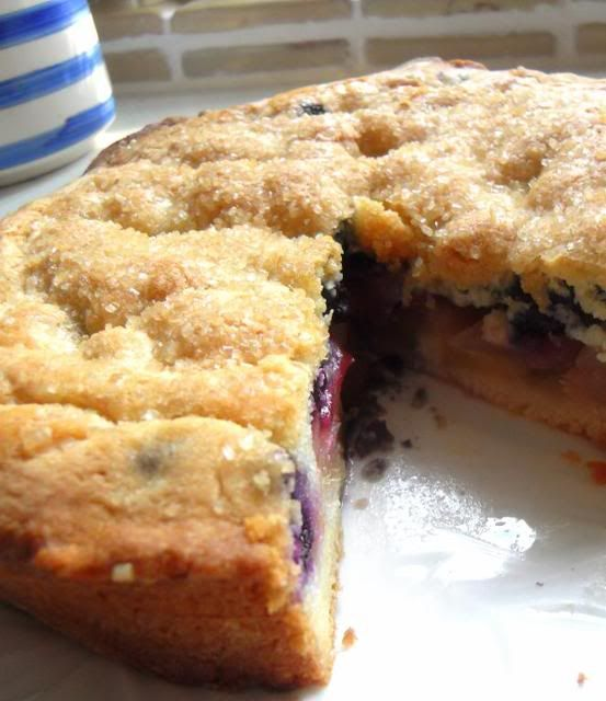 The English Kitchen: Winter Food~Apple and Blueberry Shortcake