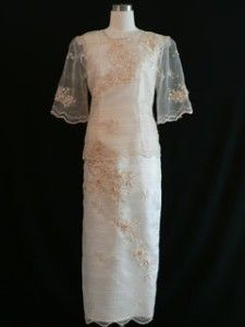 Barong Tagalog Filipiniana Dress Filipiniana Pinterest