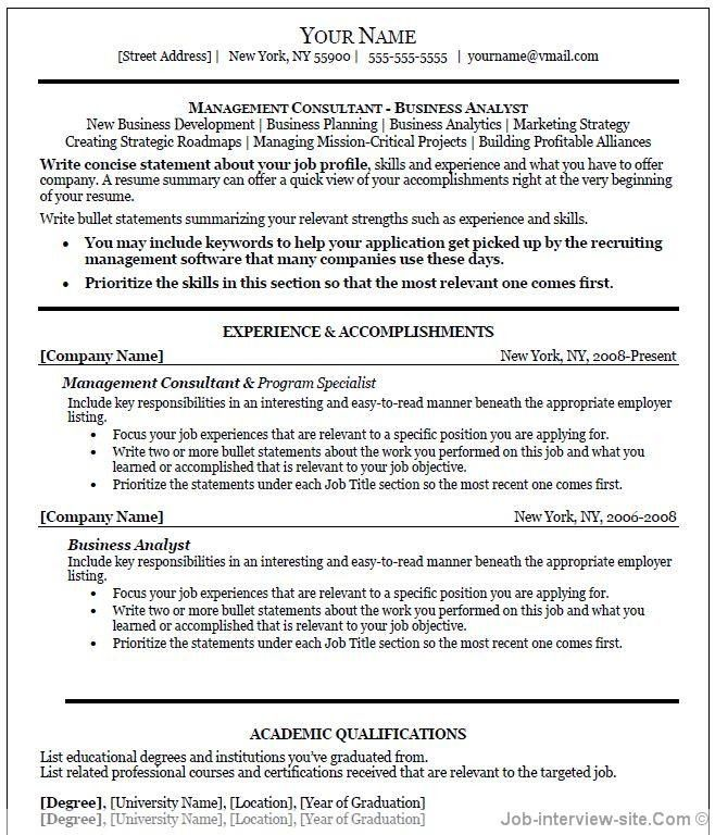 job resume template word u2013 brianhansme - word document resume template free