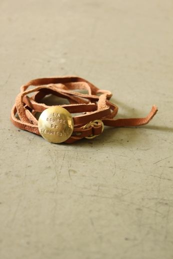 Leather Wrap Bracelet - IRRE