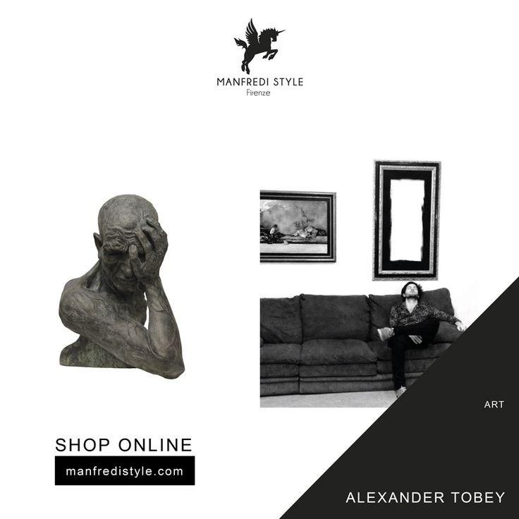 Discover Alexander Tobey creations on manfredistyle.com