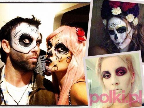 Makijaż na Halloween - makijaż gwiazd #polkipl