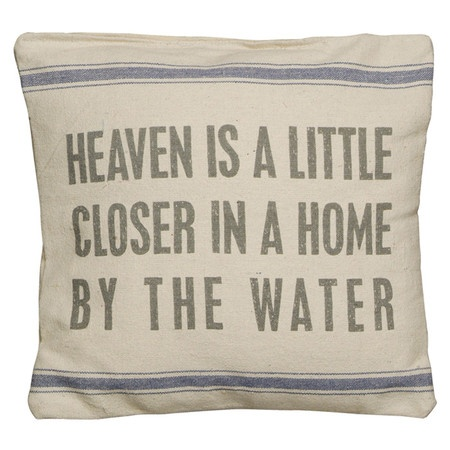 I pinned this By the Water Pillow from the Ocean Inspirations event at Joss and Main!