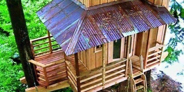Ağaç Ev Tasarımları