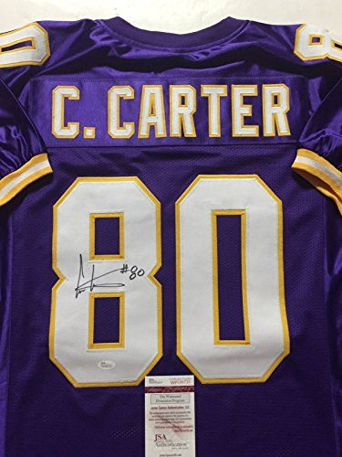 Cris Carter Minnesota Vikings Autograph