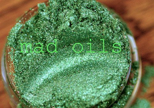 Enchanted Forest ~ green mica