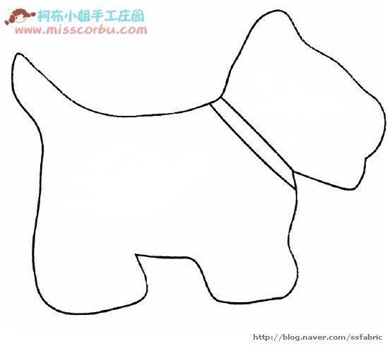 Las 25 mejores ideas sobre cojines para perros en - Patrones de perros de patchwork ...