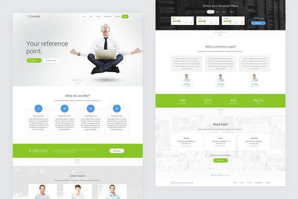 Cloudup Hosting Wordpress Theme Wordpress Theme Webpage Design Website Template Design