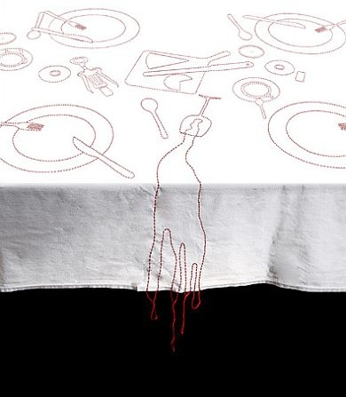 obrus / tablecloth projekt: AZE DESIGN
