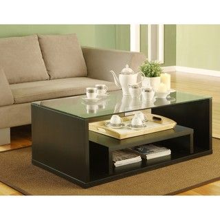 Furniture Of America Glider Coffee Table By Living Room
