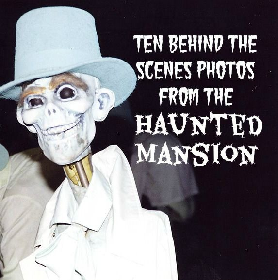 Disney Never Wanted You to See the Haunted Mansion Like This...these are creepier than the ride