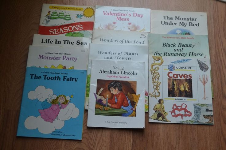 Children's Books lot of 11, paperback, English, Beginner , Homeschool, Teaching