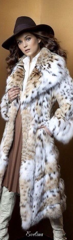 I'm that girl that PETA loves to hate - no faux fur for me!