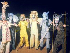 Animal Stilt Characters