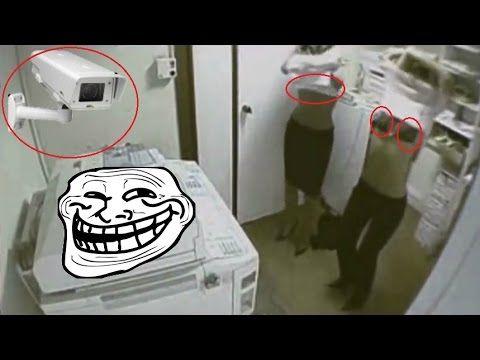 Tipico condominio russo, registrato con videosorveglianza