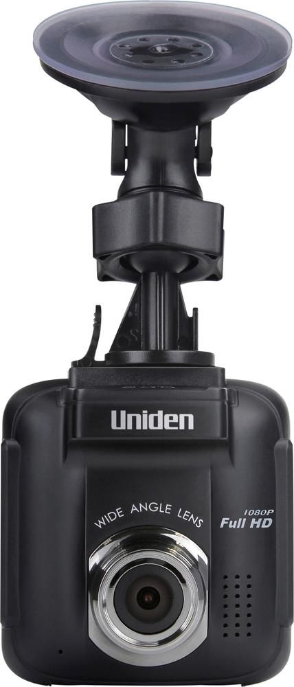 Uniden - DC40GT Full HD Dash Camera with GPS and Red Light Camera Warning - Black