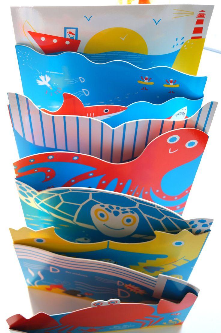 Hector dexet - La mer -leporello- editions Amaterra http://hectordexet.ultra-book.com