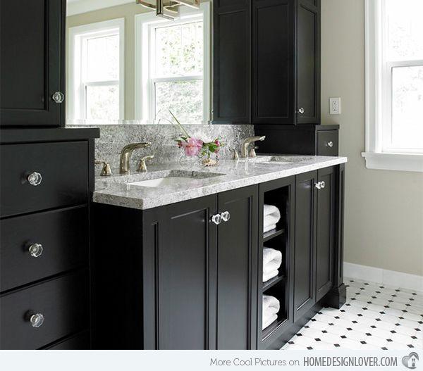 Merveilleux 15 Black Bathroom Vanity Sets
