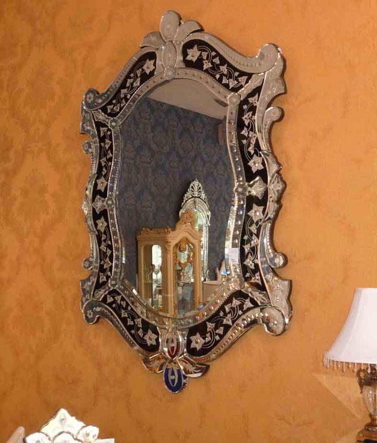 Venezianischer Spiegel MESSINA. Dekoration Beltrán, Ihr Spiegel-Shop für elegante Spiegel in venezianischem Stil.