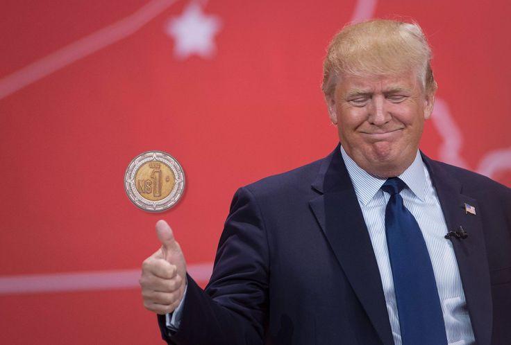 Donald Trump favoreció a la moneda mexicana - http://www.notimundo.com.mx/finanzas/trump-favorecio-moneda-mexicana/