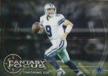 2014 Topps Chrome Fantasy Focus #FF-TR Tony Romo - Dallas Cowboys