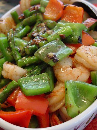Shrimp with black bean sauce | Asian inspired | Pinterest