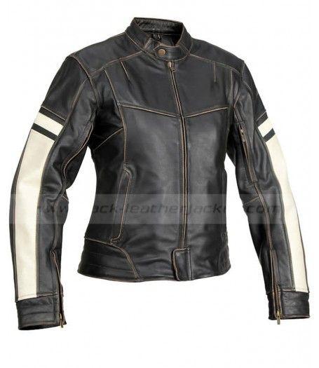 Dame Vintage Biker Jacket Womens Black Leather Motorcycle Jacket Vintage Leather Motorcycle Jacket Black Leather Motorcycle Jacket Leather Motorcycle Jacket