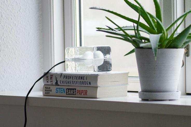 Design House Stockholm Mini Block Lamp, Hay Flowerpot
