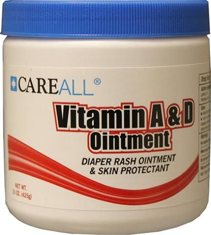 Wholesale CareAll Vitamin A&D Ointment 15 oz (Case of 12)