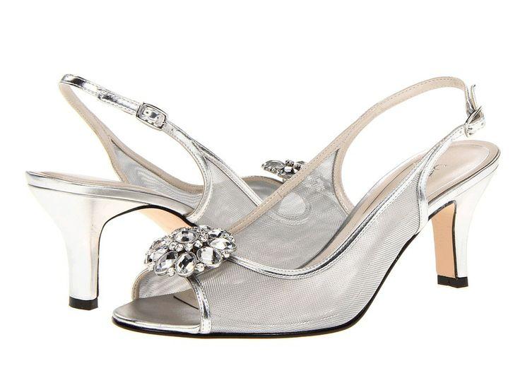 Caparros Wedding Shoes Silver