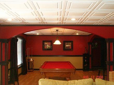Lovely Basement Ceiling Tile Options