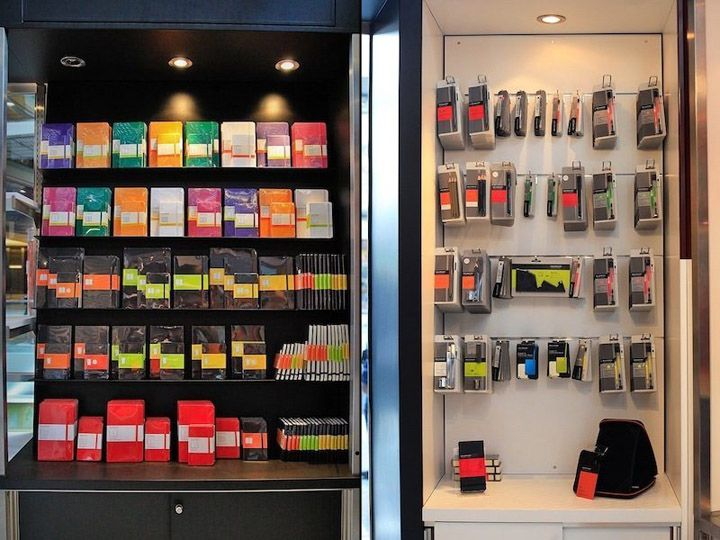 Moleskine store, New York