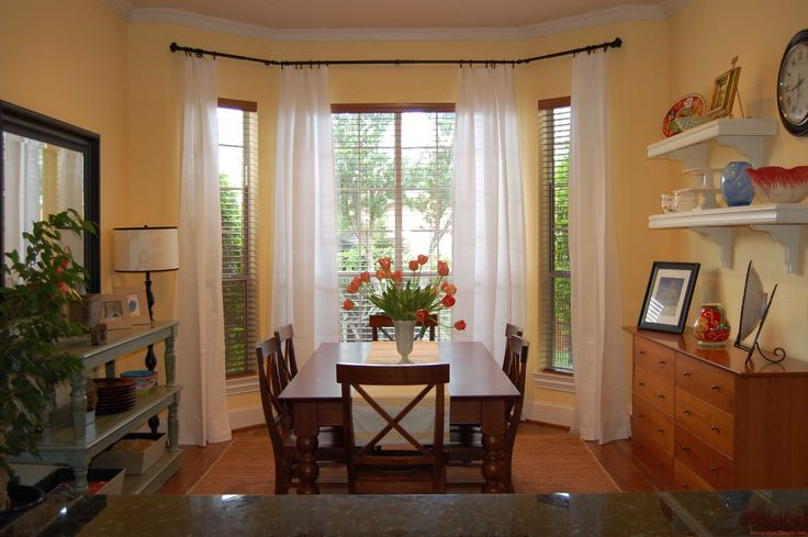 Image result for curtain ideas for 3 windows | Living room ...