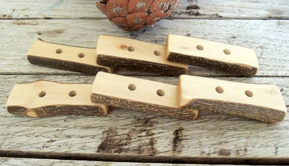 6 Handmade Wood Buttons  Olive Tree Branch by forestinspiration, $9.00
