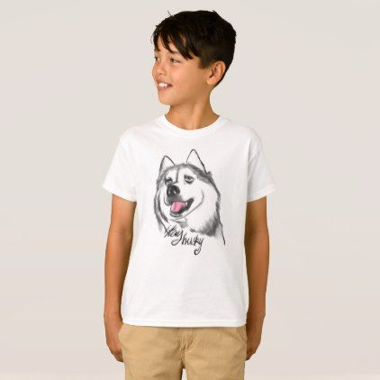 #Stay husky kids funky t shirt - #giftideas for #kids #babies #children #gifts #giftidea
