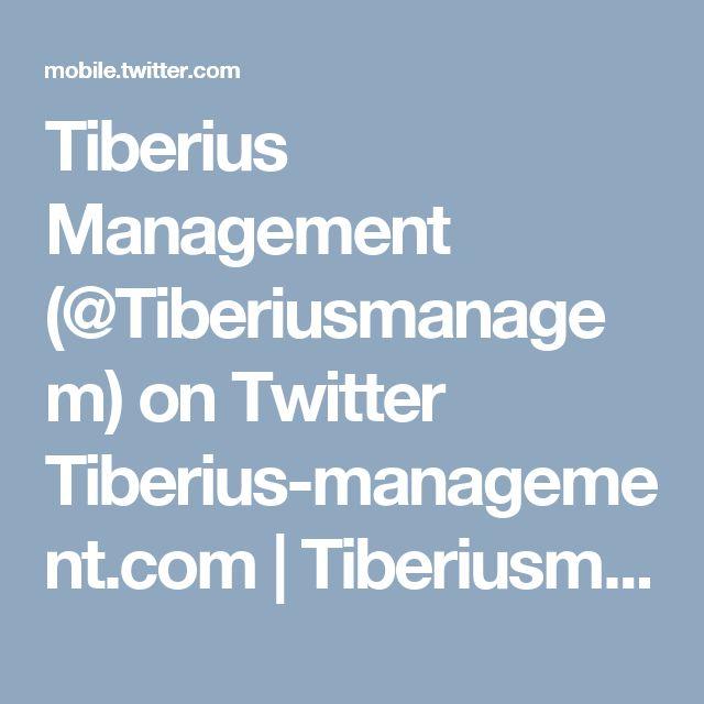 Tiberius Management (@Tiberiusmanagem) on Twitter Tiberius-management.com   Tiberiusmanagement  #tiberius-management.com #tiberiusmanagement #tiberius management