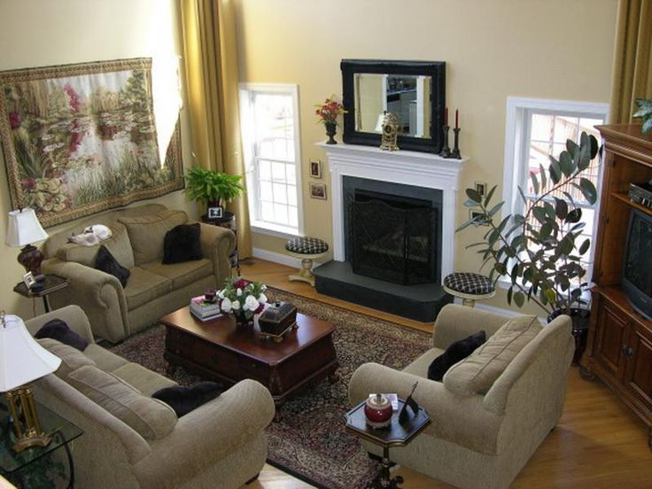 Family Room Decorating Ideas | Large 2 Story Family Room Decorating Ideas